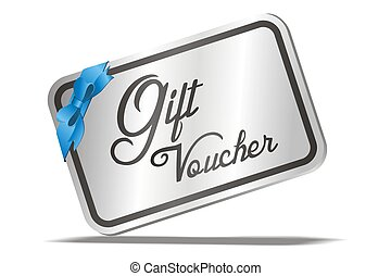 gift voucher - suitable for illustration or user interface