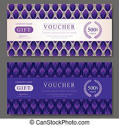 Gift Voucher Template - Elegant Gift Voucher Template With...