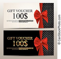 Gift Voucher Template Vector Illustration for Your Business...