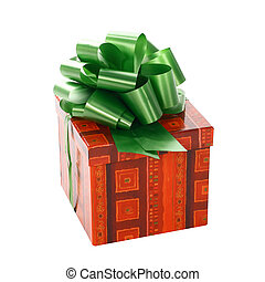 gift with a bow - The beautiful gift with a bow costs on...