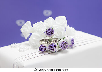 Gift with a wedding ring
