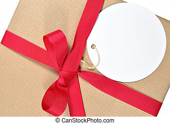 Gift with tag