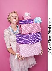 Gift, women, present