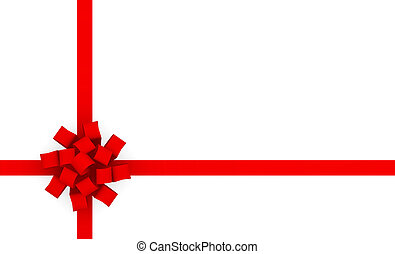 Gift Wrap Bow Ribbon for Presents Background