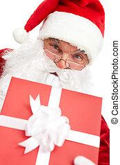 giftbox, άνοιγμα