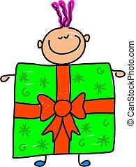 giftbox, 孩子
