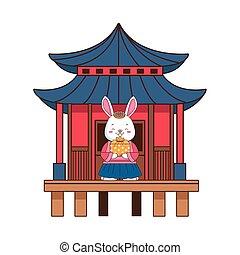 giftbox, 特徴, 中国語, うさぎ