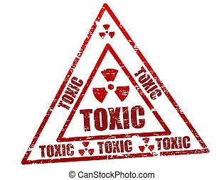 giftig, briefmarke