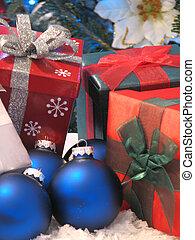 Gifts and Christmas Balls