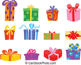Gifts - Colorful gift set