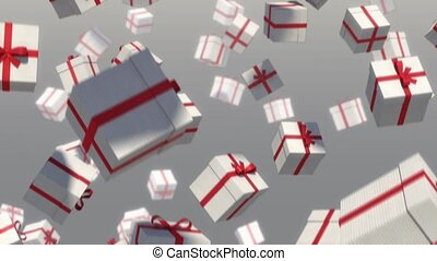 Gifts falling