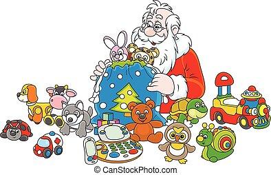 Gifts of Santa Claus