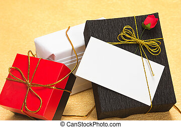 Gifts with a card