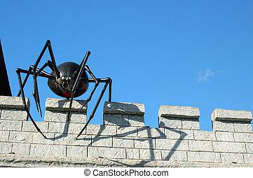 gigante, araña