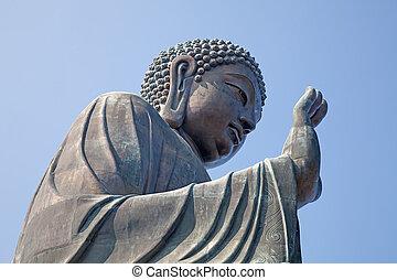 gigante, complejo, buddha