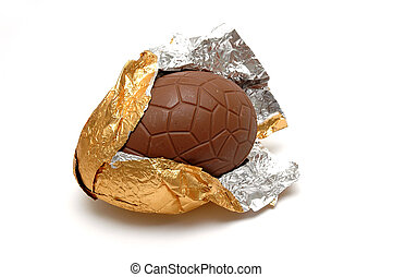 Chocolate Egg - Gigantic Chocolate Egg