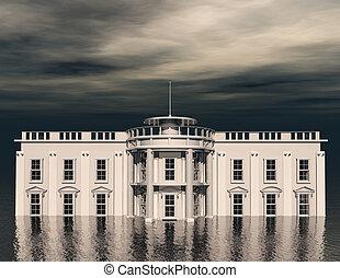 gigital rendering of the whitehouse