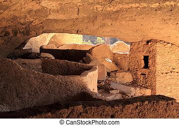 Gila Cliff Dwellings National Monument - Ancient Mogollon...