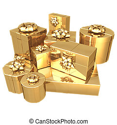 Gilded Presents 3D