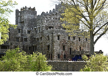 Gillette Castle State Park in East Haddam, Connecticut.
