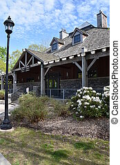 Gillette Castle State Park Visitor Center in East Haddam, ...
