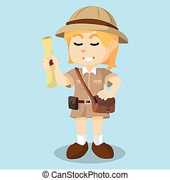 gilr explorer holding map