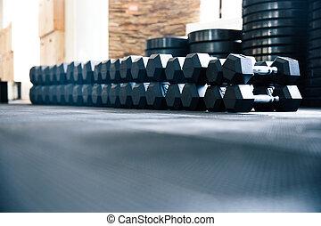 gimnasio, condición física