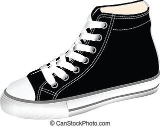 gimnasio, shoes
