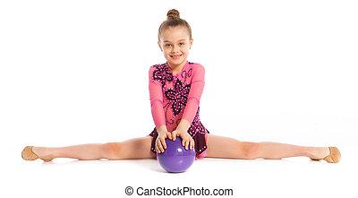 gimnasta, poco