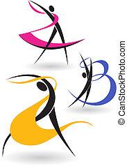 gimnastyczny, figury