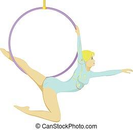 gimnastyk, cyrk
