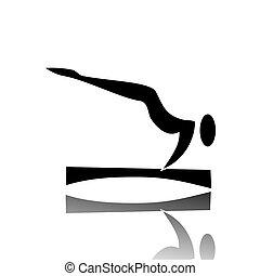 ginástica, artisticos