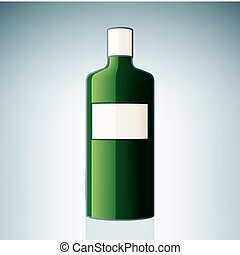 gin, bouteille