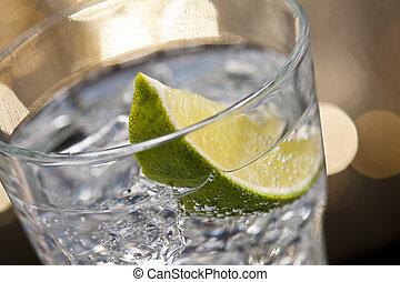 gin, tonik, koktél