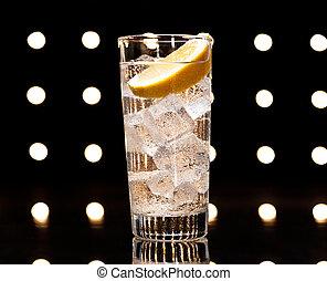 gin, tonikum, tom, collins