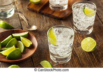 gin, tonique, alcoolique