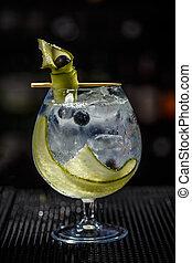 gin, tonique, cocktail