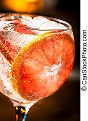 gin, tonique