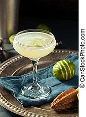 gin, vrille, alcoolique, chaux