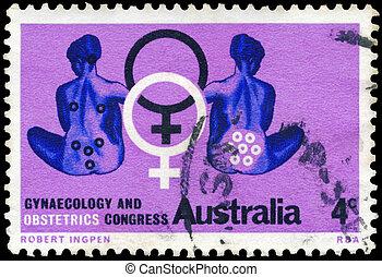 ginecología, australia, hacia, -, 1967