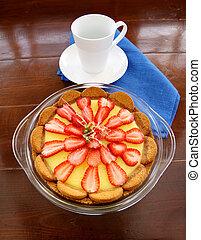 Ginger Biscuit Tart