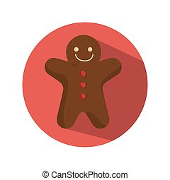 ginger bread christmas card