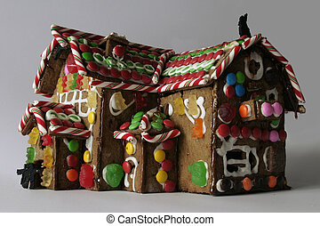 Ginger Bread House - A ginger bread house from a low vantage...