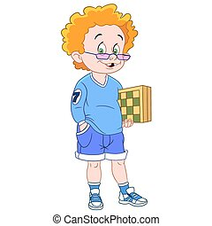 ginger chessplayer