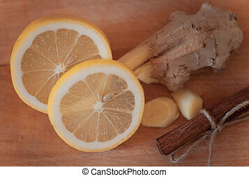 Ginger, Cinnamon and Lemon