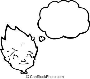 Ginger Haired Boy Cartoon