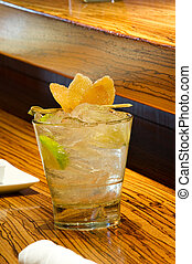 Ginger Sour Cocktail