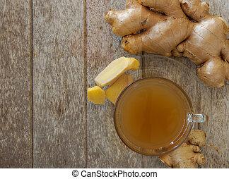 ginger tea - Ginger tea for health