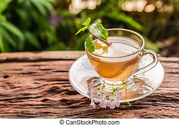 Ginger teacup
