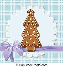 gingerbread, árvore